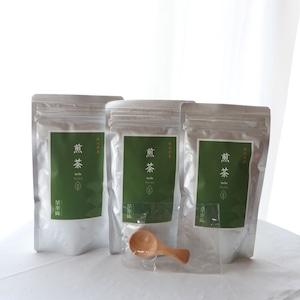 【2020年新茶】【牧之原茶】上級煎茶リーフ 3パック+茶さじ付