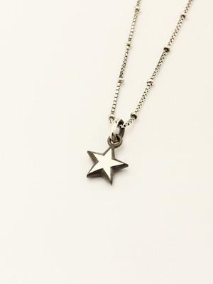 IVXLCDM (アイブイエックスエルシーディーエム) STAR CHARM PENDANT / SILVER BLACK IVX-P960-1