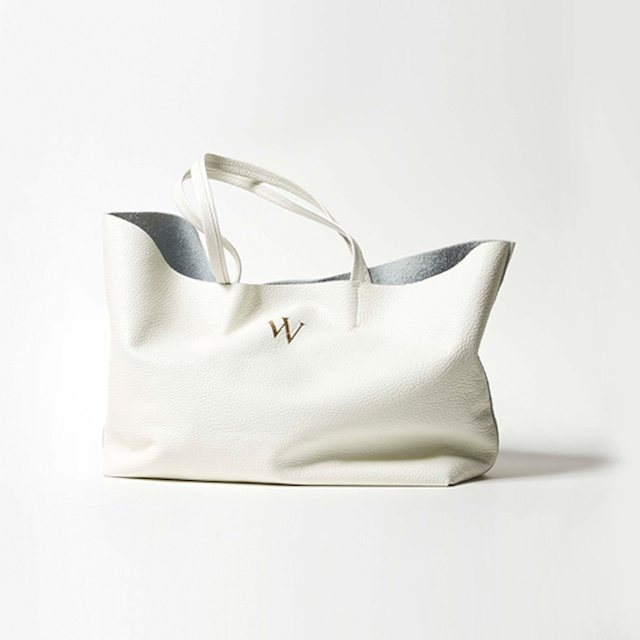 Premium Shrink Leather Tote (イニシャルレザーA4トートバッグ)