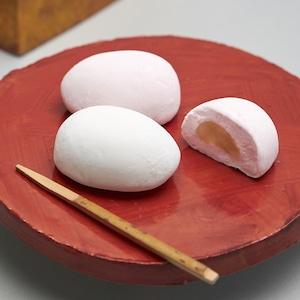 つるの玉子 8個入り【マシュマロ・紅白饅頭】