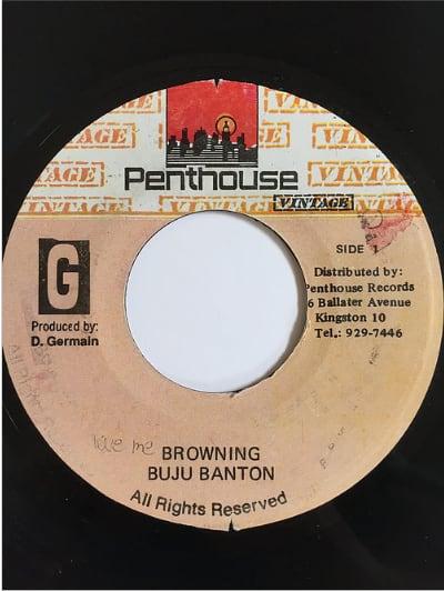 Buju Banton(ブジュバントン) - Love Me Browning【7inch】