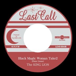 Obeah Man / Black Magic Woman Take2 [7inchレコード] - The KING LION (キングライオン)