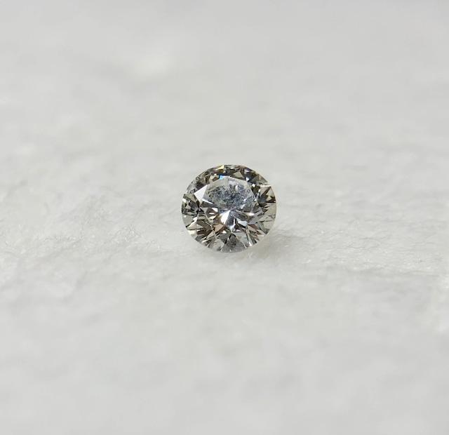 ダイヤモンド 0.160ct 簡易ソーティング付き No:19W-4020