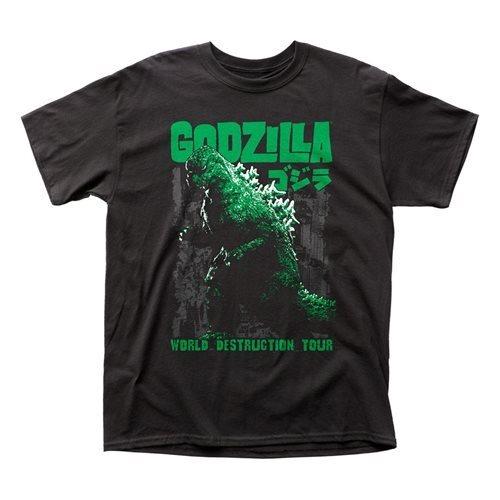 Tシャツ ゴジラ World Destruction Tour