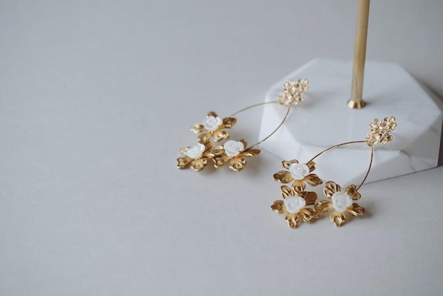 Bridal Earring・vintage・2013/sale