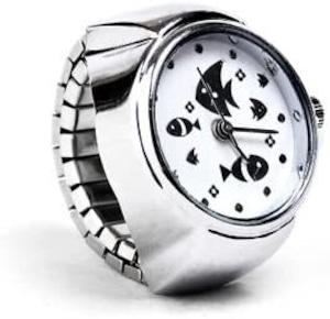 姫雑貨 指輪時計 可愛いお魚時計 通販商