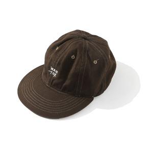 EVCON×IFNi EYE MASK 6 PANEL CAP [ESPRESSO]