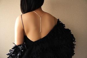【シルバーロングチェーンネックレス(60cm)】je t'aimeジュテーム~ラブレターセット~20個限定販売