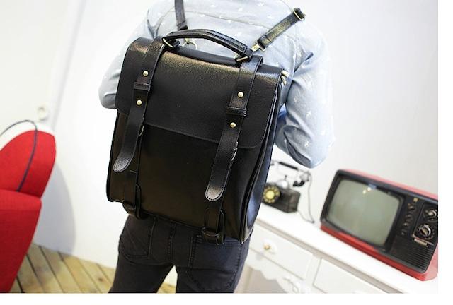 リュックサック メンズ  レザー 革 デイバッグ バックパック 通勤 通学bag-78