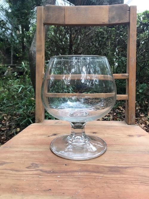 古いガラスコンポート 水槽 器 花器 古道具 B