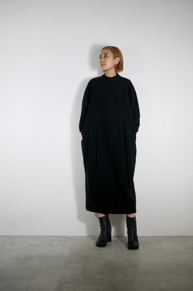 TENNE HANDCRAFTED MODERN | Cotton cocoon dress