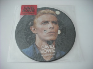 """【7"""" PICTURE DISC】DAVID BOWIE / GOLDEN YEARS"""