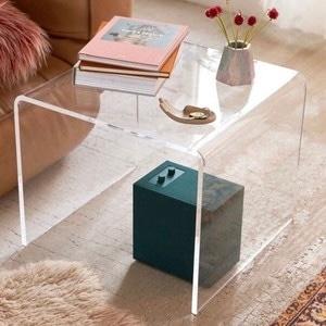 acryl clear side table / アクリル クリア サイドテーブル ソファー ダイニング 透明 韓国 北欧 インテリア