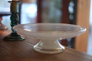 ◆三宅吹硝子工房◆三宅義一◆◆◆『吹き硝子のコンポート皿⁂{泡}』◆◆◆