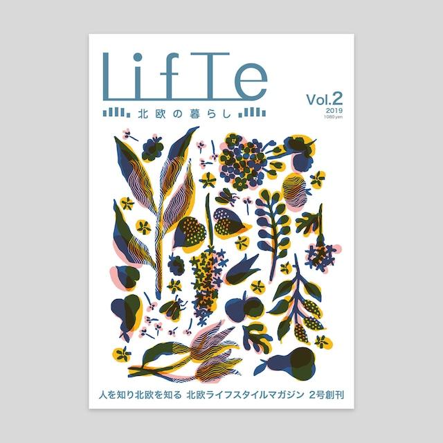 雑誌 LifTe 北欧の暮らし Vol.02