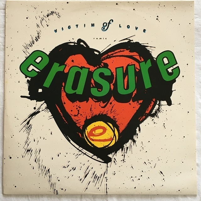 【12inch・英盤】Erasure / Victim Of Love (Remix)