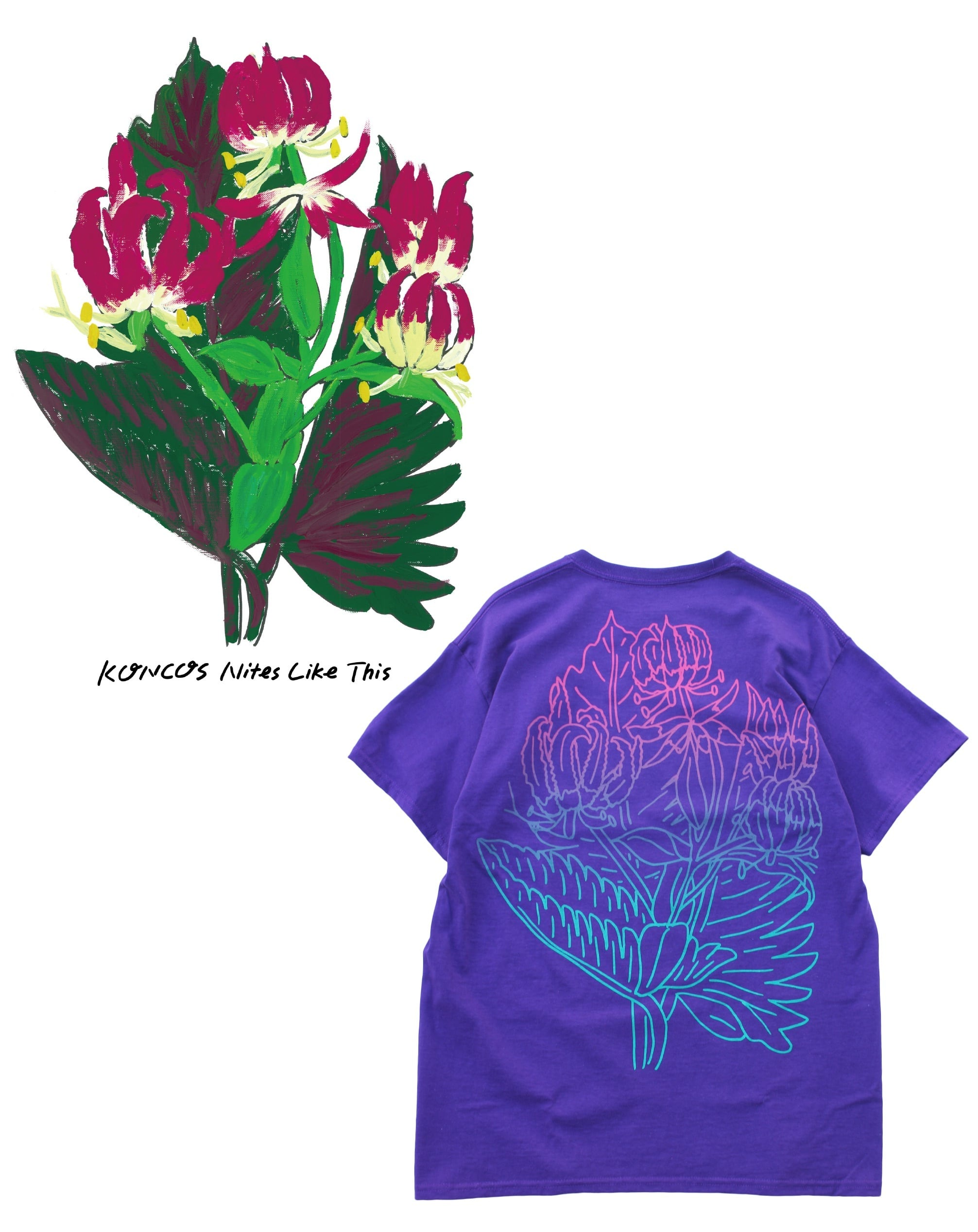 Anoraks + Forager Nites Like This T-Shirt