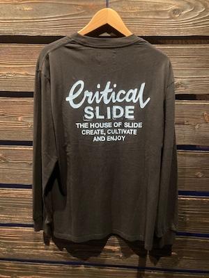 Critical Slide  CREATOR LS TEE  V.Black  Lサイズ  TE2152
