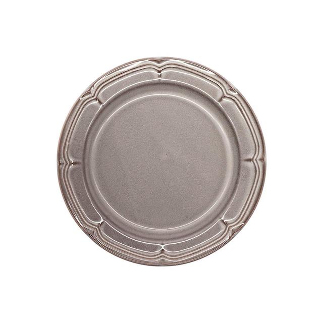 Koyo ラフィネ リムプレート 皿 約19.5cm ストームグレー 15973106