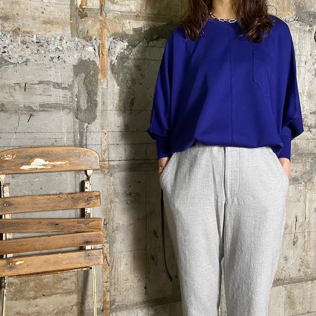 Dessin de Mode【デッサン ド モード】ドルマンTシャツ (12DPO-134M210 LAPIS LAZULI /SIZE:F)
