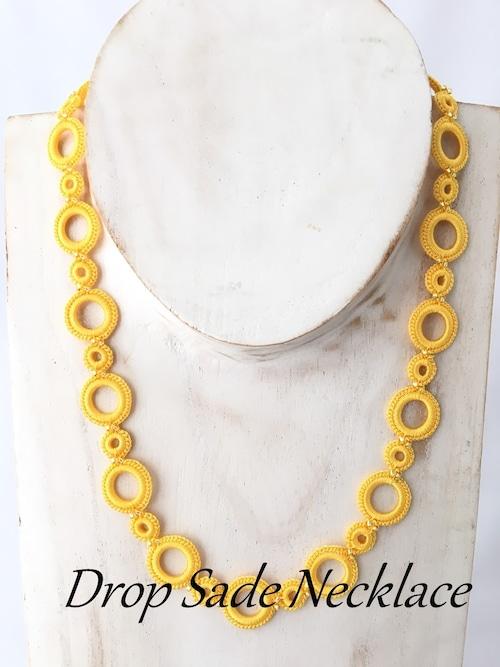 ボンジュクオヤのネックレス ドロップ サーデ(カラーは商品内ページよりお選びください。)
