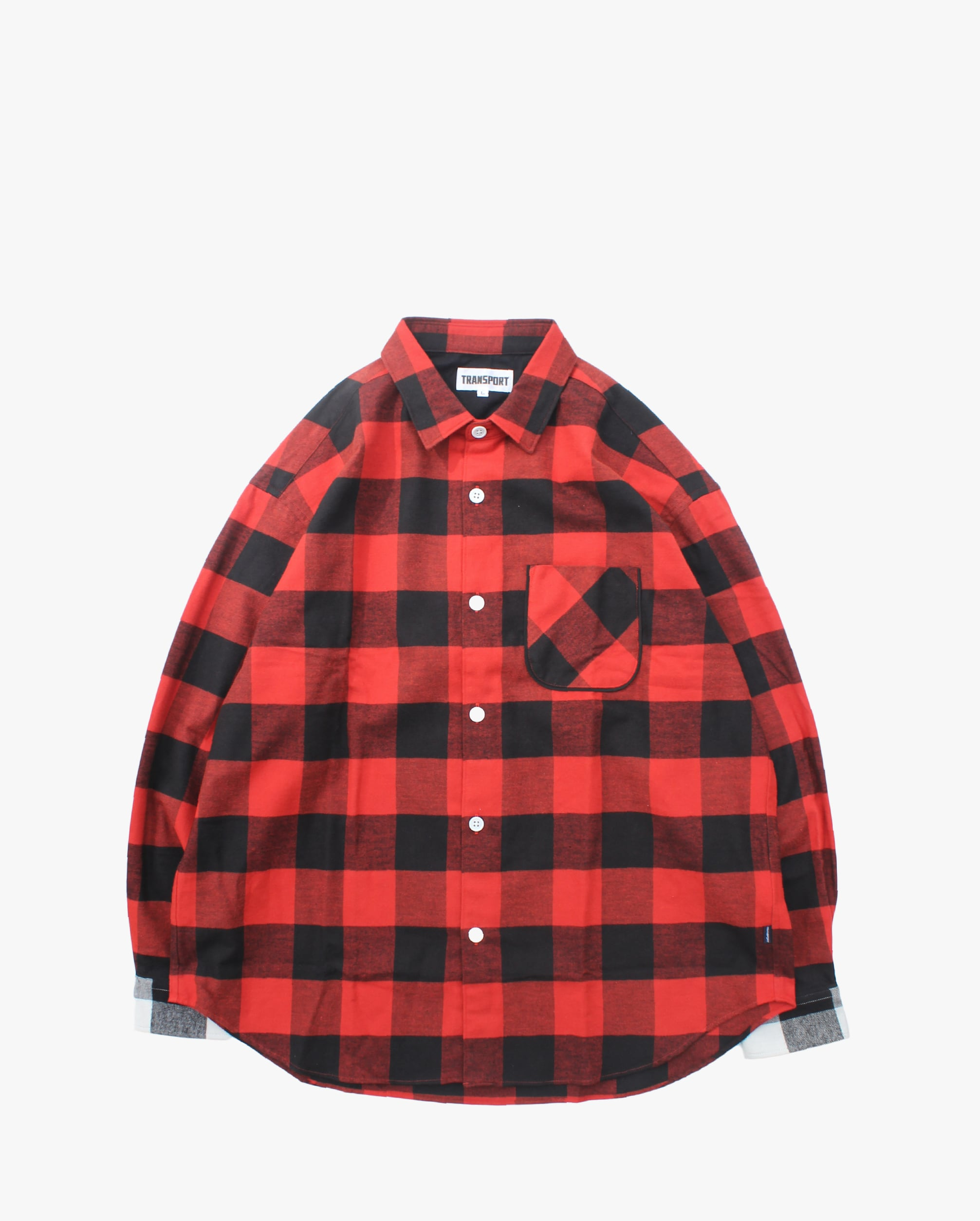 "TRANSPORT ""Buffalo Love Shirt""  Red"