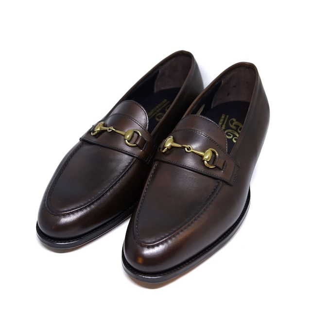 """GEORGE CLEVERLEY / """"The Colony"""" ビットローファー / Dark Brown Antique"""