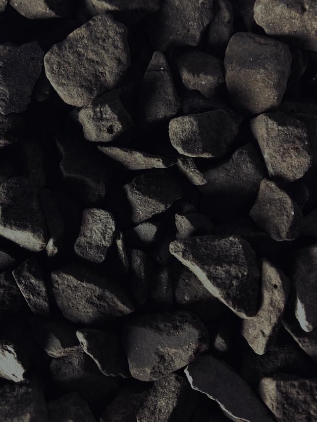 瓦化粧石 黒燻・L 1L