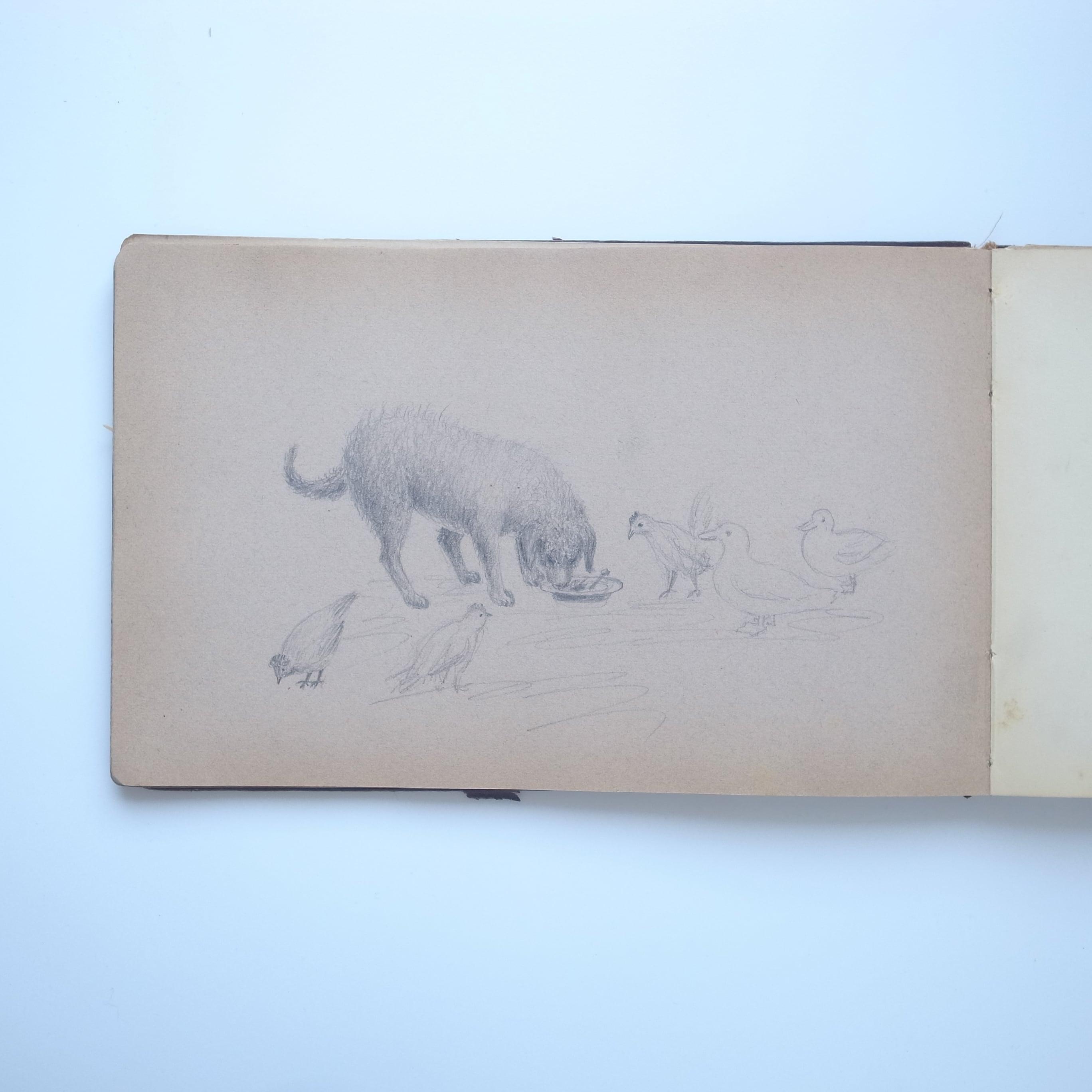Gunilda Kolthoff's Sketch book