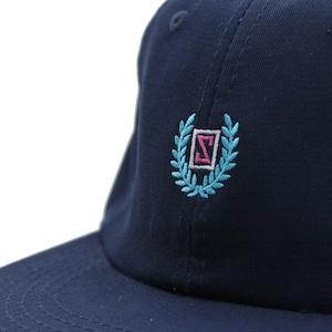LAUREL STRAPBACK CAP #NAVY