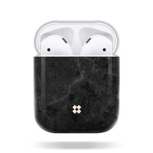 CaseStudi ケーススタディ PRISMART AirPods Case 2018 エアーポッズ ハード ケース 大理石 男女兼用 Marble Black 国内正規品