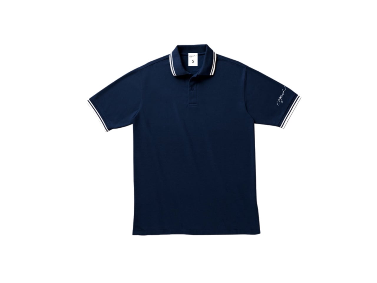 coguchi LINE polo T-shirts (NV)