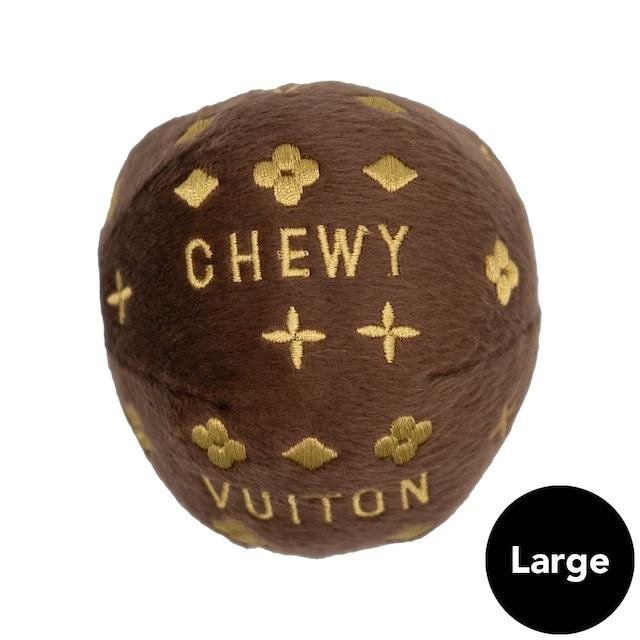 Dog Diggin Designs(ドッグディギンデザインズ)Chewy Vuiton Ball Toy Lg