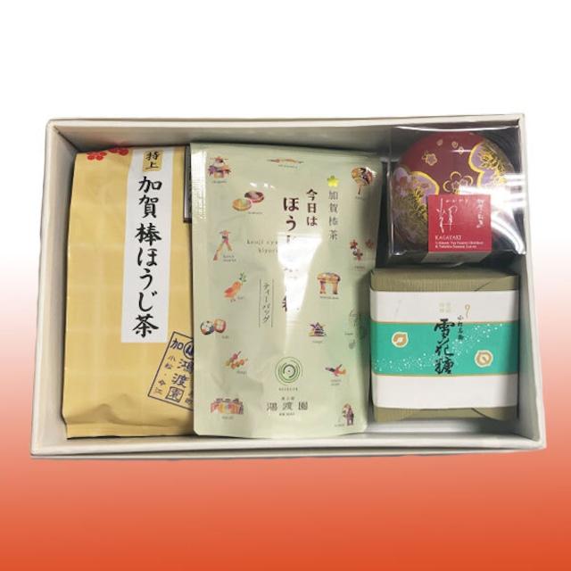 加賀茶ギフト(茶工房 鴻度園)