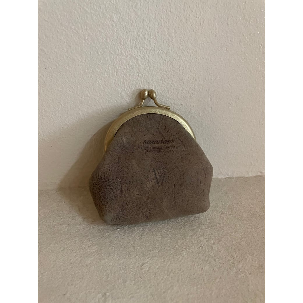 【屋上の音楽】Gamaguchi wallet (Kudu)/ がま口財布(クードゥー)