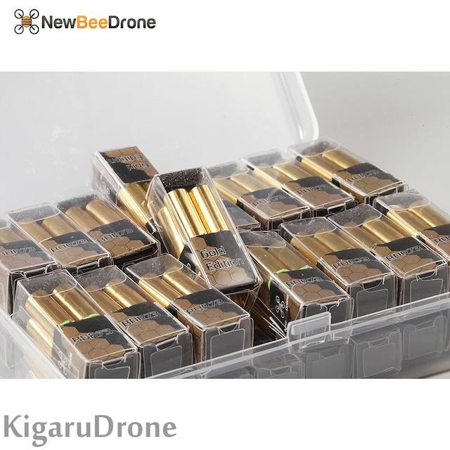 NewBeeDrone BDR GOLD Edition - 6mm Brushed Motor - 6mm×15mm 19700KV JST 1.25mm ブラシモーター4個セット GOLD