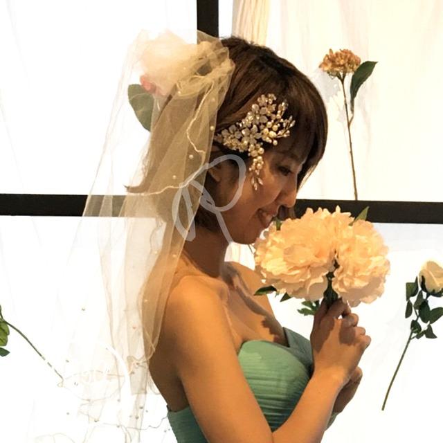 rba00024 ヘッドドレス 結婚式 ヘアアクセサリー 結婚式 お呼ばれ 2次会 ドレス 花嫁 ウェディングドレス パーティードレス アクセ  フォーマル パーティー 結婚式 女子会 成人式 同窓会