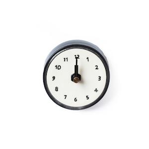 CANASA (カナサ)  壁掛け時計 (磁器製) 小