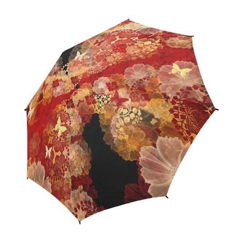 家紋と華 折りたたみ傘