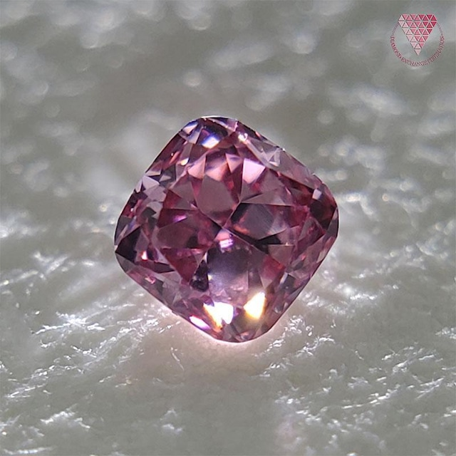 0.029 ct F.V.Pur.Pink VS1 天然 ピンク ダイヤモンド