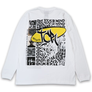 FREE YOUR MIND L/S TEE - WHITE