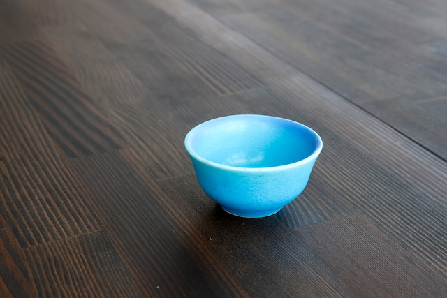 【SP3A15-30】『美濃の匠』『盃』 『トルコ釉』 *綺麗な水色 きれいな盃 おしゃれ インテリア ギフト トルコ 海