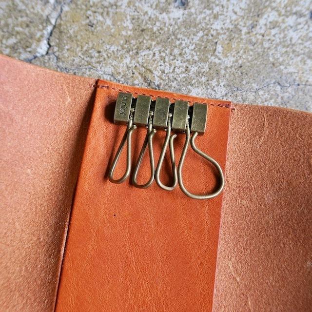 「KEY CASE Camel」 Italy Leather
