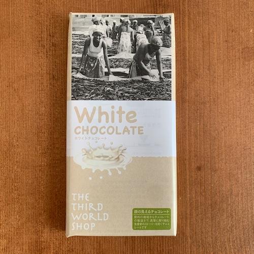 フェアトレードチョコレート ホワイト 【乳化剤・白砂糖不使用】