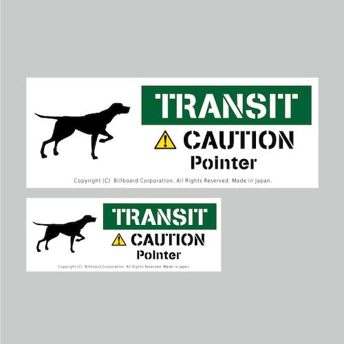 TRANSIT DOG Sticker [EnglishPointer]番犬ステッカー/イングリッシュポインター