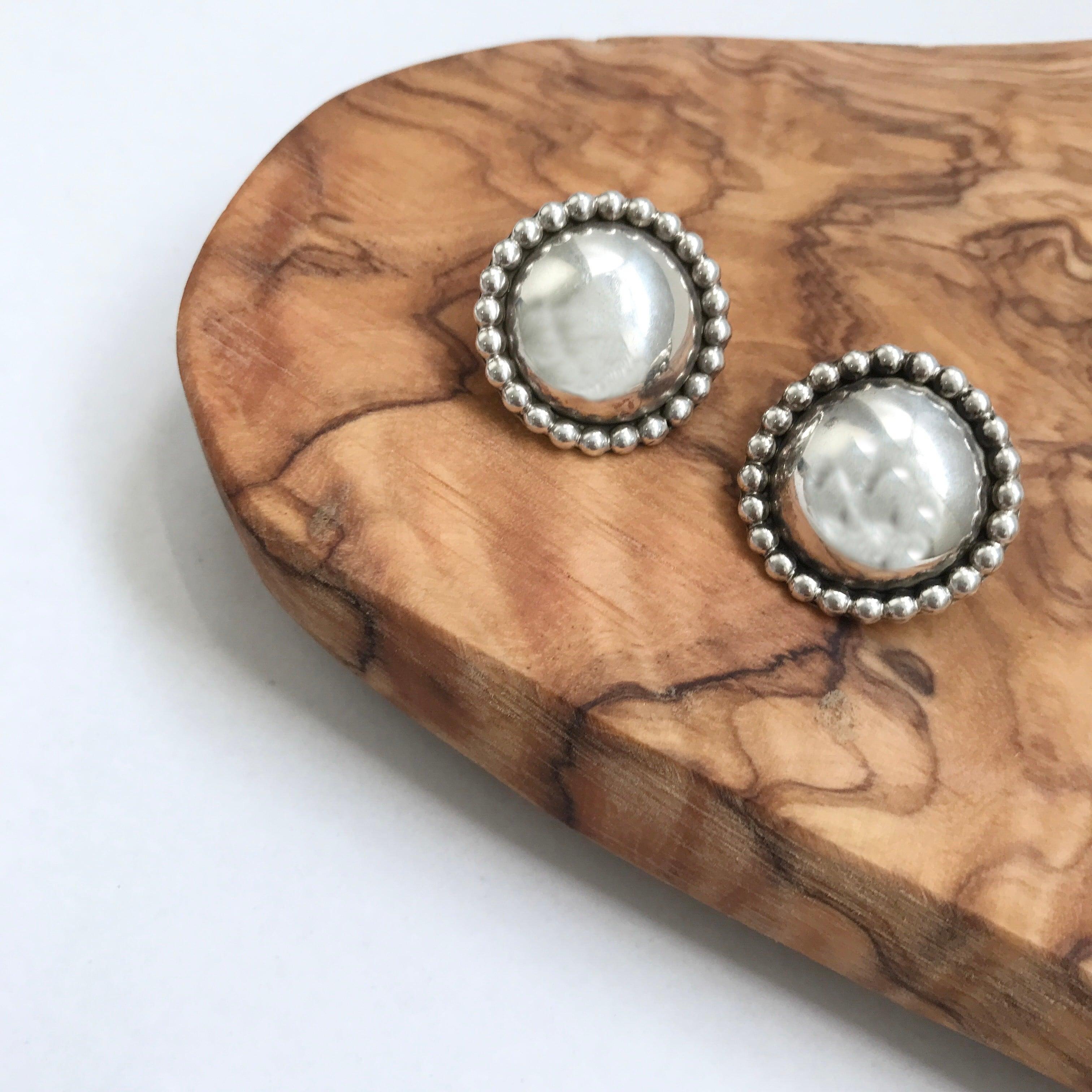 Indian Jewelry Navajo Studs Earrings L