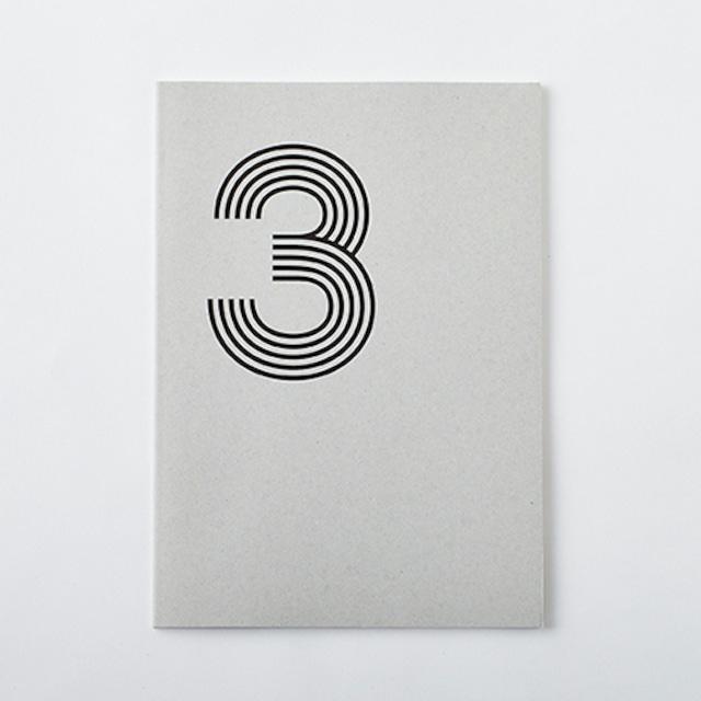 DAILY NOTE/MONOTONE 「3」