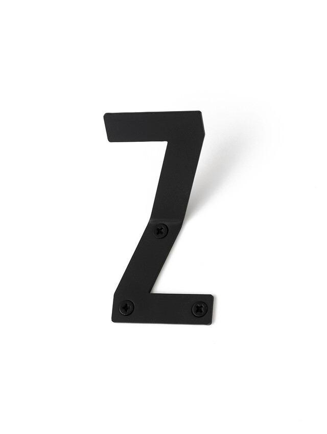 LETTER HOOK  Z フック 壁掛け サイン 英文字 アルファベット