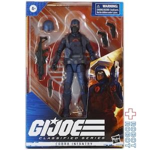 ハズブロ G.I.ジョー クラシファイドシリーズ コブラ・インファントリー 6インチ アクションフィギュア