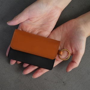 Flap mini wallet